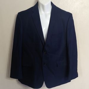 Adolfo Navy blue classic fit sports coat size 42S